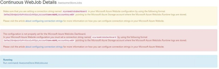 webjobs error